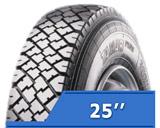 Индустриальные шины 25''