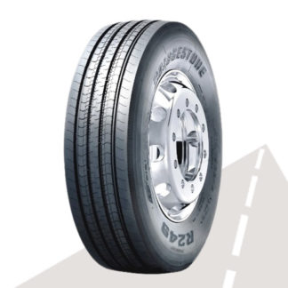 Грузовая шина Bridgestone R249 (рулевая) 295/80 R22,5 152/148M