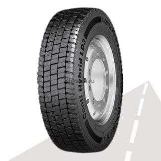 Грузовая шина 215/75 R17.5 CONTINENTAL Conti Hybrid LD3