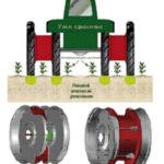 Схема спарки колес трактора